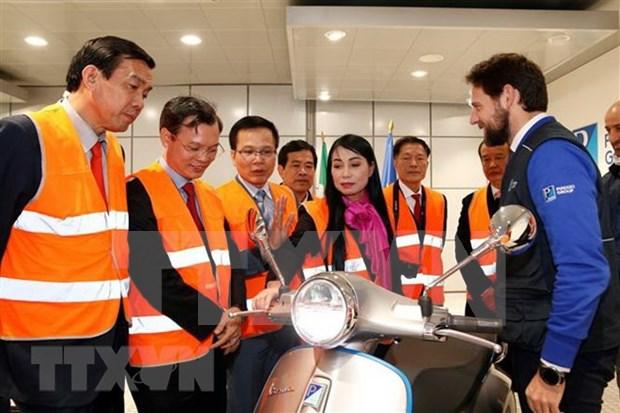 Provincia vietnamita de Vinh Phuc impulsa inversiones en Italia hinh anh 1