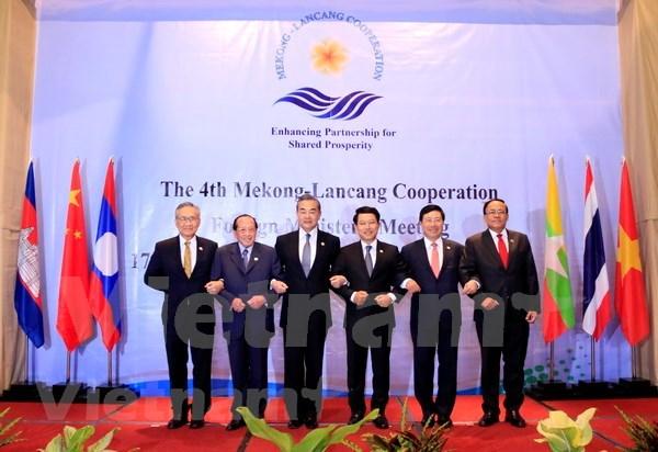 Vietnam concede importancia a cooperacion entre paises de Mekong hinh anh 1