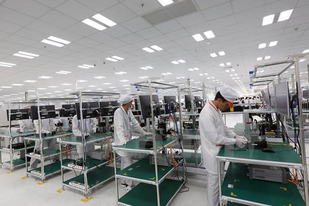 Alto incremento de la exportacion de telefonos moviles de Vietnam hinh anh 1