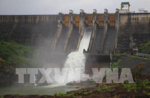 Inaugurada mayor presa hidroelectrica de Camboya hinh anh 1