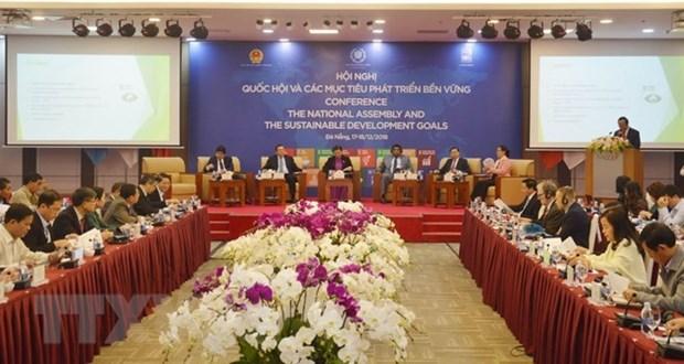 Concluye en ciudad vietnamita de Da Nang conferencia sobre Asamblea Nacional y ODS hinh anh 1