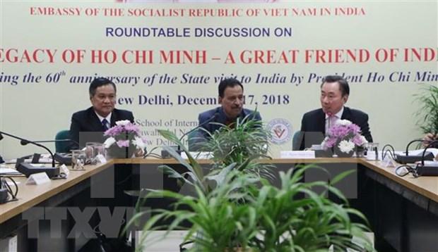 Destacan en la India legados del presidente vietnamita Ho Chi Minh hinh anh 1