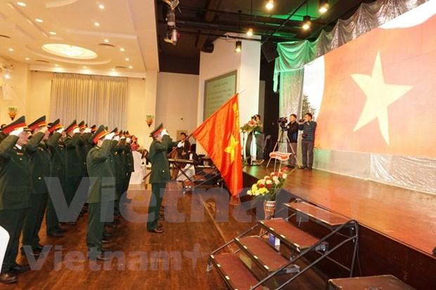 Conmemoran en Republica Checa Aniversario 74 de fundacion de ejercito popular de Vietnam hinh anh 1