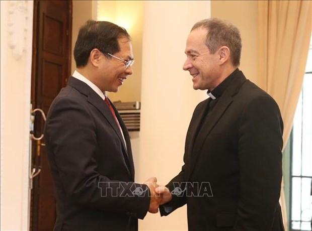 Efectuan en Hanoi septima reunion del Grupo de Trabajo Conjunto Vietnam- El Vaticano hinh anh 1