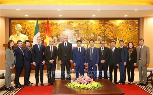 Celebraran en Hanoi tercer dialogo sobre relaciones economicas ASEAN-Italia hinh anh 1