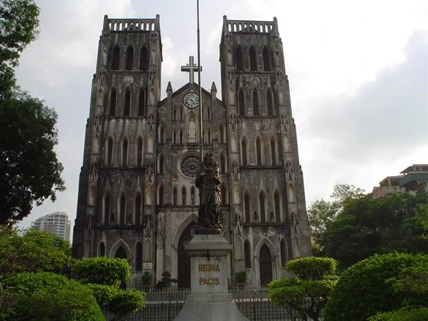 La Catedral de San Jose de Hanoi hinh anh 1
