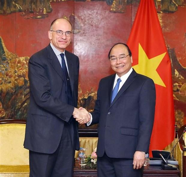 Vietnam reafirma apoyo a Dialogo de alto nivel sobre relaciones economicas Italia-ASEAN hinh anh 1