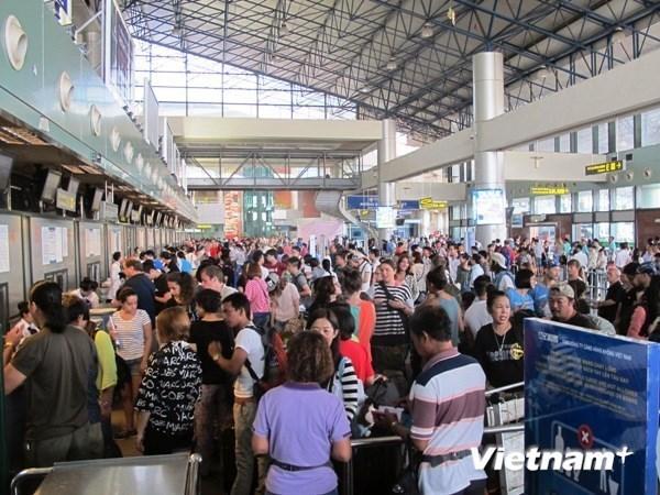 Aumentaran vuelos domesticos con motivo de la fiesta tradicional del Tet 2019 hinh anh 1