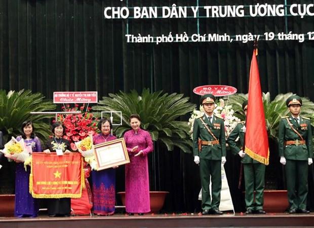Reconocen contribucion de servicio de salud popular a reunificacion de Vietnam hinh anh 1