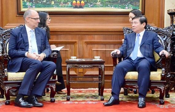Dinamarca respaldara a Ciudad Ho Chi Minh en desarrollo urbano hinh anh 1