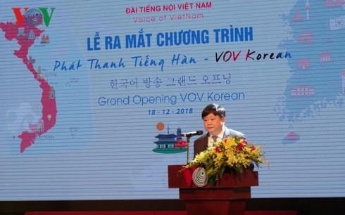 Lanzan en Vietnam programa de radio en idioma coreano hinh anh 1