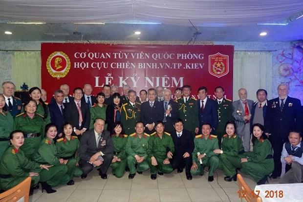 Resaltan en Ucrania aportes de veteranos vietnamitas hinh anh 1