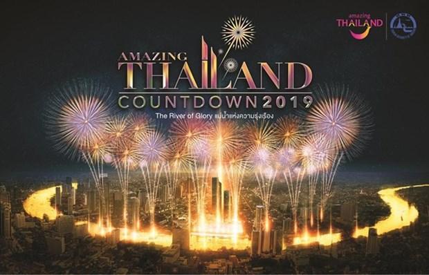 Tailandia organiza fiestas de cuenta regresiva para ano nuevo hinh anh 1