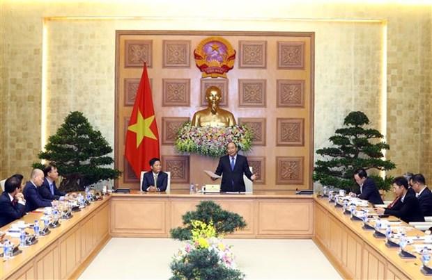 Marca es el parametro para evaluar salud de las empresas, afirma premier de Vietnam hinh anh 1