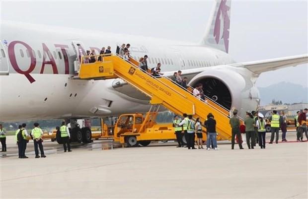 Qatar Airways realiza primer vuelo a la ciudad vietnamita de Da Nang hinh anh 1
