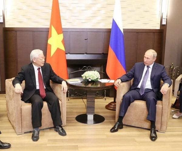 Relaciones Vietnam-Rusia gozan de un 2018 exitoso, evalua experto hinh anh 1