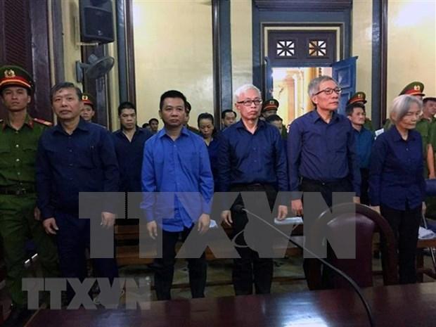 Emiten sentencias contra involucrados en caso de violacion acontecido en banco vietnamita Dong A hinh anh 1