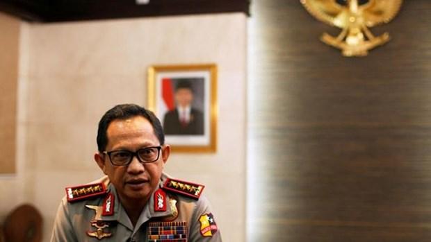 Indonesia arresta a presuntos extremistas antes de las festividades del fin de ano hinh anh 1