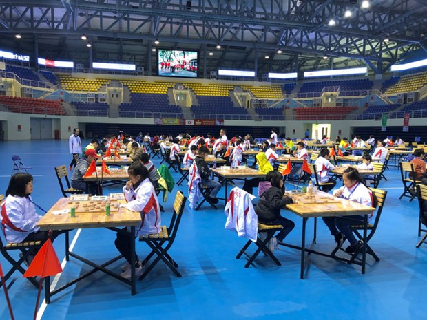 Vietnam lidera Campeonato Abierto Juvenil de Ajedrez de Asia hinh anh 1