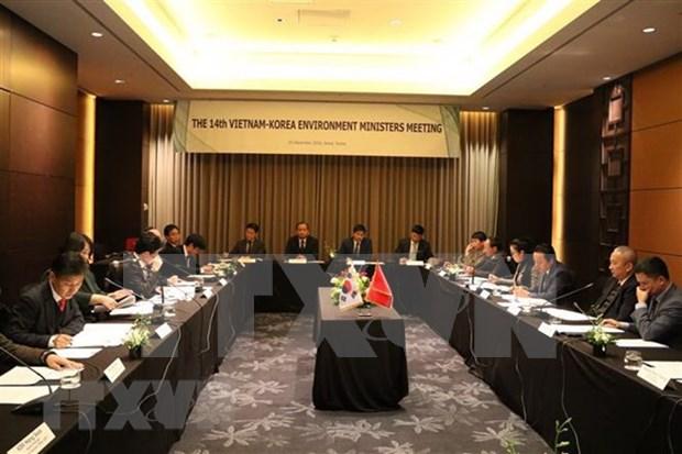 Impulsan cooperacion entre Vietnam y Corea del Sur en proteccion ambiental hinh anh 1