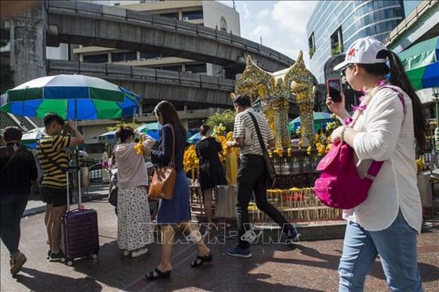 Tailandia recibe a turista chino numero 10 millones este ano hinh anh 1