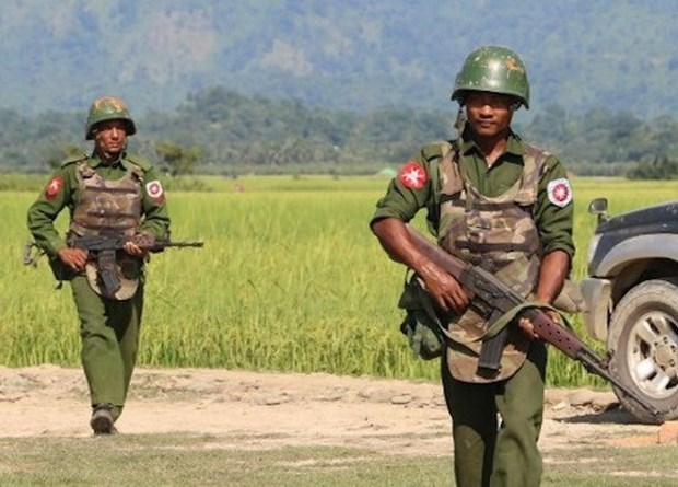 Ejercito de Myanmar suspende acciones militares contra grupos armados hinh anh 1