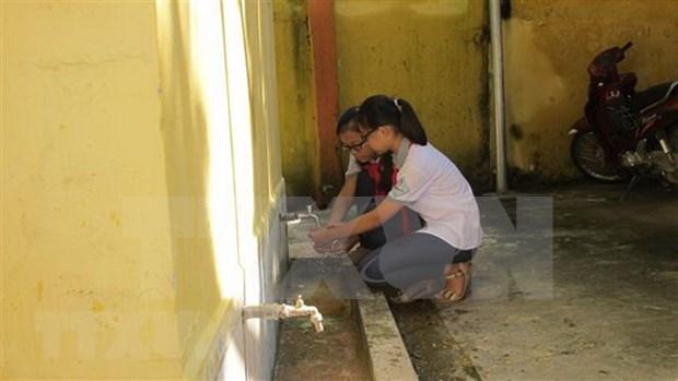 Construyen 15 obras de suministro de agua potable en localidades vietnamitas hinh anh 1