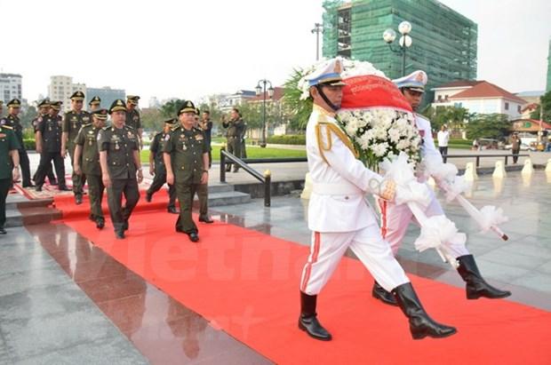 Conmemoran en Camboya fundacion de Ejercito Popular de Vietnam hinh anh 1