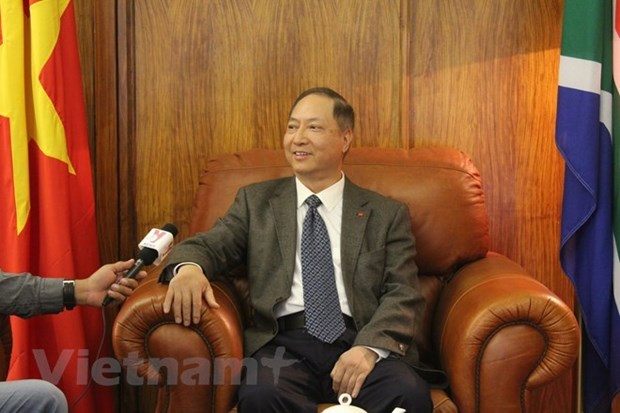 Intercambio comercial Vietnam-Sudafrica se multiplica en cinco veces en 10 anos hinh anh 1