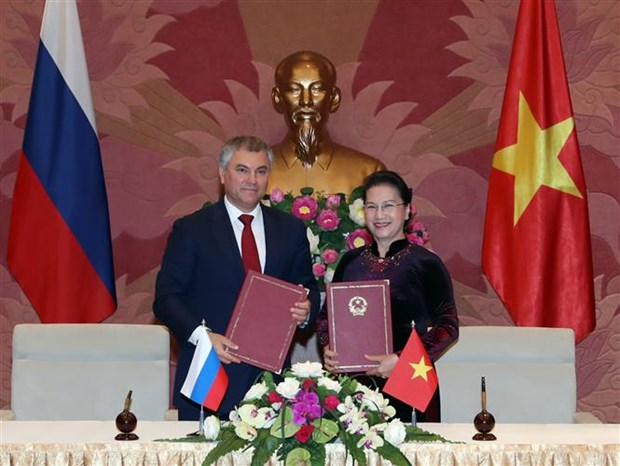 Vietnam y Rusia establecen comite de cooperacion interparlamentaria bilateral hinh anh 1