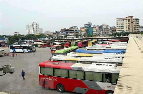 Entidades de transporte vietnamitas listas para satisfacer alta demanda en dias feriados hinh anh 1