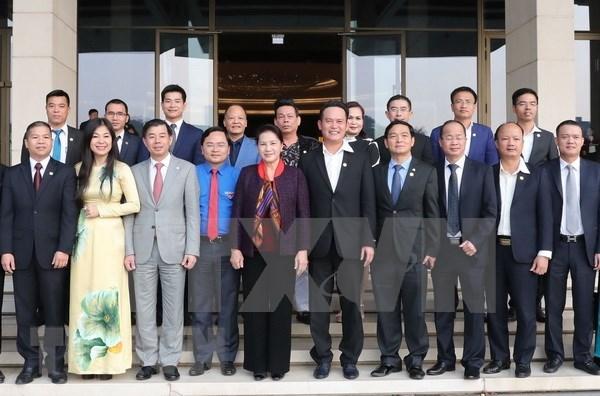 Adaptabilidad de empresas es impulso de crecimiento, afirma dirigente legislativa de Vietnam hinh anh 1