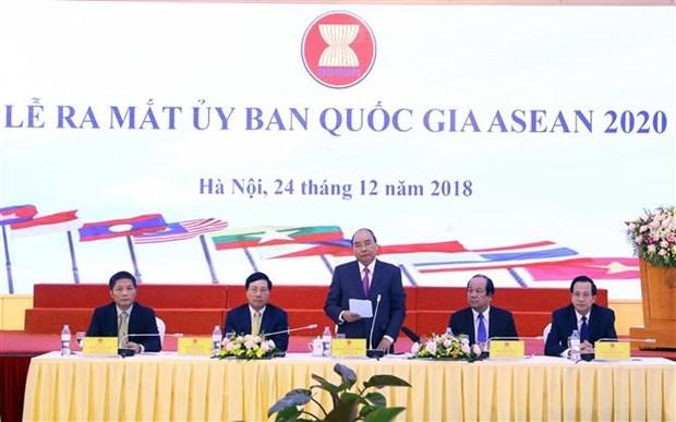 Vietnam dispuesto a trabajar al maximo para exito del Ano de ASEAN 2020, afirma Premier hinh anh 1