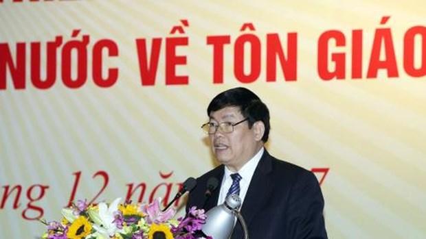 Protestantes vietnamitas unen esfuerzos por el desarrollo nacional hinh anh 1
