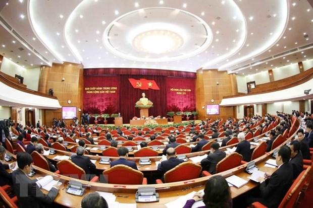 Comite Central del PCV examina el liderazgo del Buro Politico y Secretariado hinh anh 1