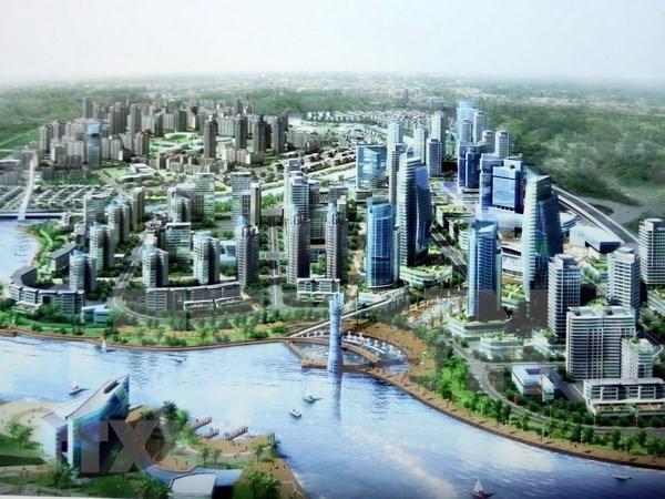 Exhiben en ciudad vietnamita productos para la construccion de urbes inteligentes hinh anh 1