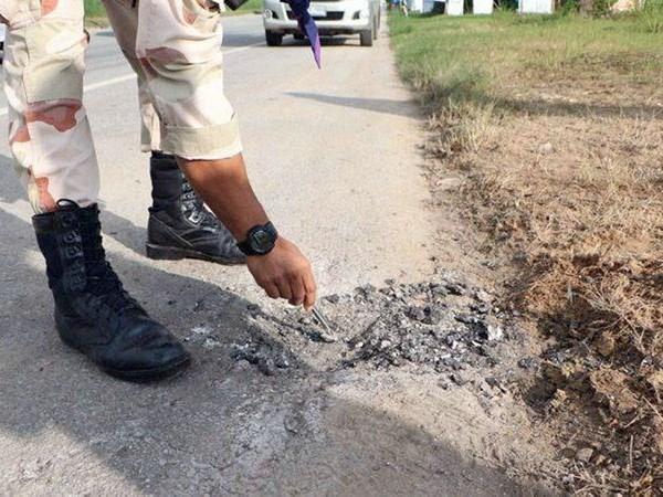 Ataque con bomba en el sur de Tailandia mata a un policia hinh anh 1