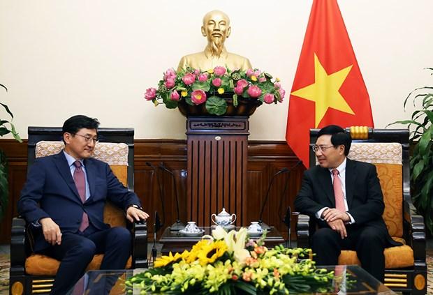 Vietnam y Corea del Sur deben impulsar cooperacion multifacetica, afirma vicepremier hinh anh 1