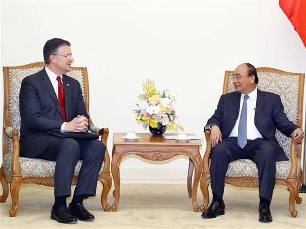 Premier de Vietnam llama a fortalecer cooperacion con Estados Unidos en 2019 hinh anh 1
