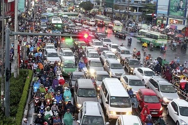 Ciudad Ho Chi Minh propone soluciones para la congestion de trafico en 2019 hinh anh 1