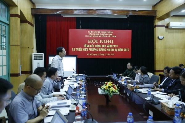 Comision del rio Mekong de Vietnam perfecciona su organizacion hinh anh 1