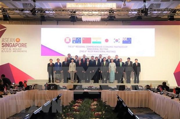 India busca en RCEP un acuerdo comercial equilibrio hinh anh 1