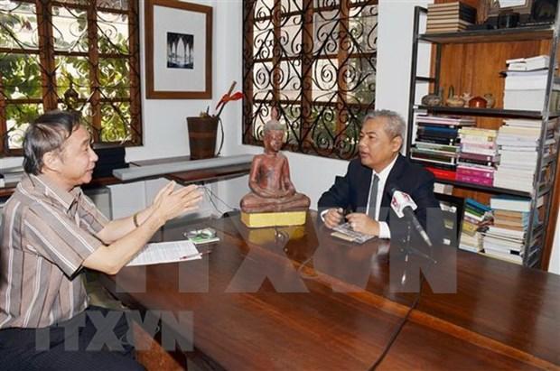 Destacan asistencia vietnamita a Camboya en derrocamiento del regimen genocida de Khmer Rojo hinh anh 1