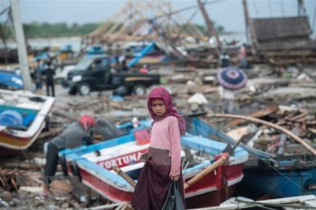 Se incrementan riesgos de tsunami en Indonesia hinh anh 1