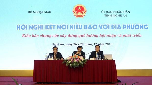 Promueven la unidad nacional entre vietnamitas residentes en el ultramar hinh anh 1