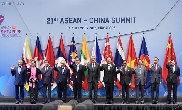 China y ASEAN entran a una nueva era de asociacion estrategica hinh anh 1