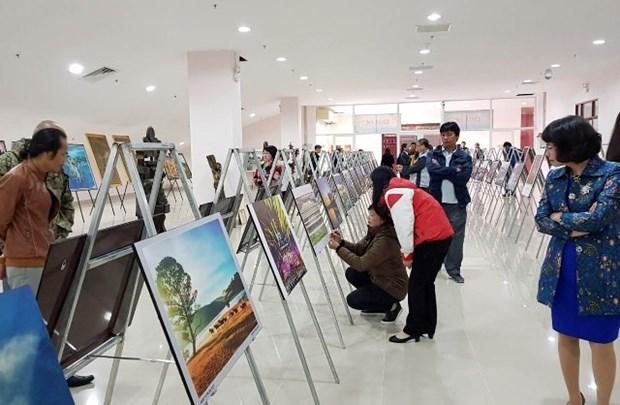 Efectuan exposicion sobre cultura y historia de ciudad vietnamita de Da Lat hinh anh 1