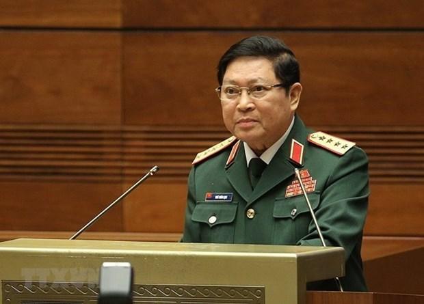 Ministro de Defensa de Vietnam comienza visita a Camboya hinh anh 1