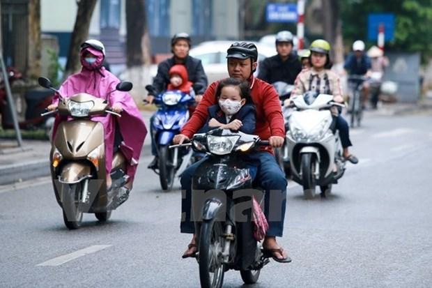 Intensa ola de frio azota provincias nortenas y centrales de Vietnam hinh anh 1