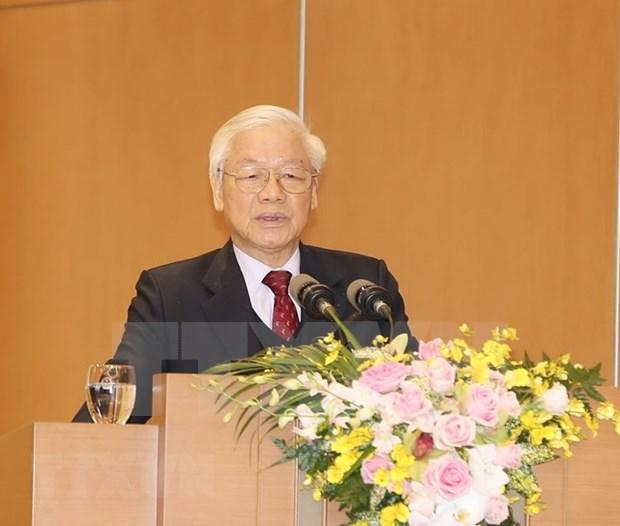 Maximo dirigente de Vietnam instruye tareas para desarrollo socioeconomico 2019 hinh anh 1